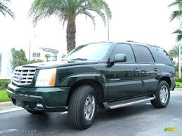 2002 Green Envy Cadillac Escalade AWD #15051206 Photo #2 ...