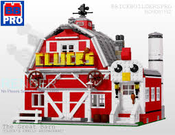 Brick Builders Pro - The Great Barn - Building LEGO - BRICKPICKER