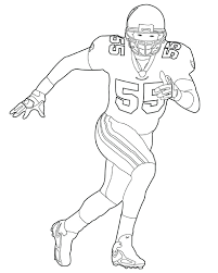 nfl coloring pages coloring pages best football