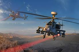 Us Tests Apache Helicopters With Mounted Laser Beams