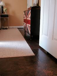 paper bag flooring finished floor by lovely crafty home