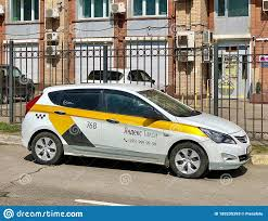 Yandex.Taxi Car In Moscow, Russia Editorial Stock Photo - Image of drive,  aggregation: 185235393