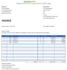 Free Excel Invoice Free Small Business Invoice Template For Microsoft Excel By
