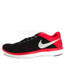nike running shoes 2016 red. nike flex 2016 rn run black red silver mens running shoes sneakers 830369-006 10 | ebay