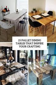25 Paletten Tische Die Ihr Handwerk Inspirieren Megapanorg