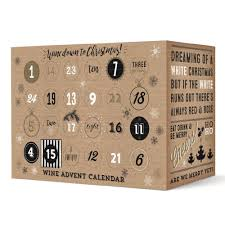 advent calander wine advent calendar christmas gift the pip stop