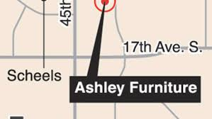 Ashley Furniture showroom warehouse going up in south Fargo