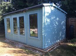 building a garden office. \ Building A Garden Office