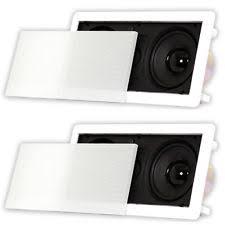 jbl in wall speakers. acoustic audio hd-5c in wall speakers home theater surround sound 2 speaker set jbl