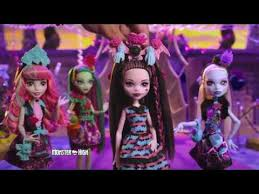 monster high party hair draculaura