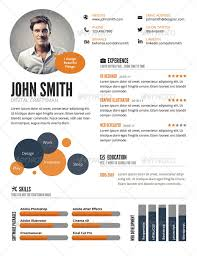 Infographic Resume Cool InfoGraphic Style Resume Template By GraphicMonkee GraphicRiver