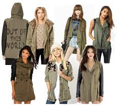military style coats help usher in winter style