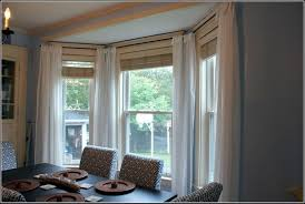 curtaincan you hang eyelet curtains on a bay window pole hanging outside