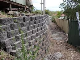 australian retaining walls diamond concrete block