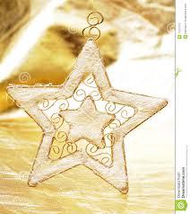 Weihnachtsstern Auf Gold Stockbild Bild Von Stern Feier