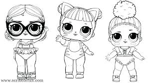 Doll Coloring Pages Girl Coloring Pages Free Girl Doll Coloring