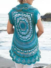 Crochet Circular Vest Pattern Free Fascinating Annie's Free Crochet Patterns Crochet And Knit