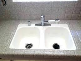 reglaze kitchen sink cast iron sink beautiful kitchen sink encouraged in order to my own weblog reglaze kitchen sink