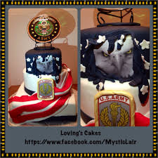 Jrotc Military Ball Decorations Army JROTC Cake Very Patriotic Special Occasion Cakes 23