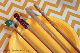 how to make harry potter wands chopsticks for kids