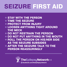 Image result for what to do during a seizure