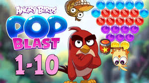 Angry Birds Pop Blast Gameplay Pt 1: Levels 1-10 - Hatchlings ...