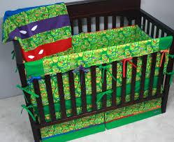 ninja turtles baby bedding designs