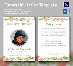 Funeral Invitation Template Custom Obituary Card Template Eulogy Funeral Invitation Templates Free