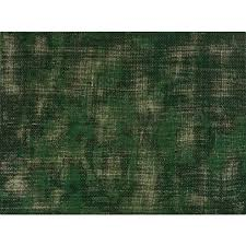 disintegrated green fl rug