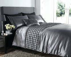 full size of luxury duvet covers in grey with large glass wall and fur rug for