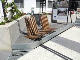 Street furniture seating