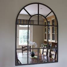 large arched mirror. Metal Arch Mirror Large Arched R