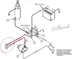 Perfect mercury outboard wiring schematic diagram images diagram