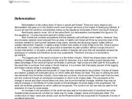 deforestation essay essay deforestation essays on deforestation deforestation persuasive writing