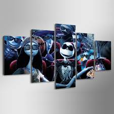 Nightmare Before Christmas Bedroom Decor Aliexpresscom Buy Hd Printed Nightmare Before Christmas