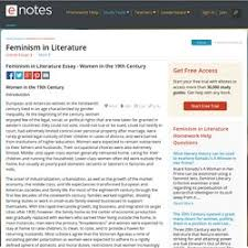 anglais ib pearltrees feminism in literature essay women in the 19th century