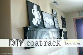 Diy Standing Coat Rack Diy Coat Rack Stand Tree Style Hat Bag Coat 100 Hooks Wooden Made Rack 77