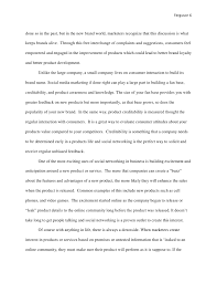 social media marketing paper  they might have 6