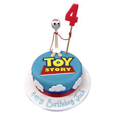 Forky Toy Story Cake Girls Birthday Cakes The Cake Store