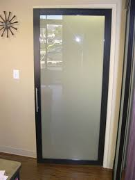 glass frosted door office design advice for your home
