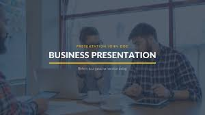 Business Proposal Powerpoint Burbank Business Proposal Free Powerpoint Template