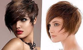 Asymetrické účesy Pre Krátke A Stredné Vlasy účesy