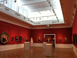 Museum track lighting Lighting Architecture Here Is Great View Of The Lighting In One Gallery In This Room There Is Just One Large Track Lighting System And Lighting Set Along The Perimeter Of The Akzu Day At The Portland Art Museum Stephanie Chahans Design Blog