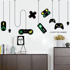 theater game controller decoration chandelier wall sticker internet cafe study