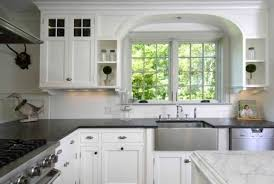 Kitchen Ideas White Cabinets Black Countertop Gallery
