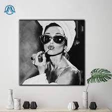 African Wall Art Woman in Audrey ...