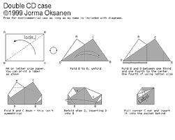Making A Cd Case Origami Cd Paper Holder Nathan W Kester
