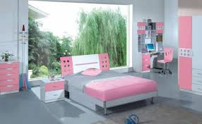 Teens bedroom girls furniture sets teen design Bedroom Small Ideas For Girls Square White Painted Wood Study Desk Antique Headboard Stainless Steel Drum Bedroom Small Ideas For Teenage Blind Robin Teenage Girl Bedroom Ideas Pink Plain Modern Fabric Curtain Teen