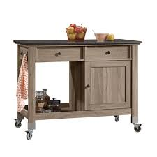 Sauder Kitchen Furniture Mobile Kitchen Island Kitchen Carts On Wheels Uk Island Full