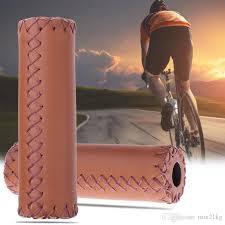 2019 artificial leather bicycle handlebar grips cover anti slip bike handlebar grip 12 5cm mountain mtb bike grips bicicleta from mix21kg 1 22 dhgate